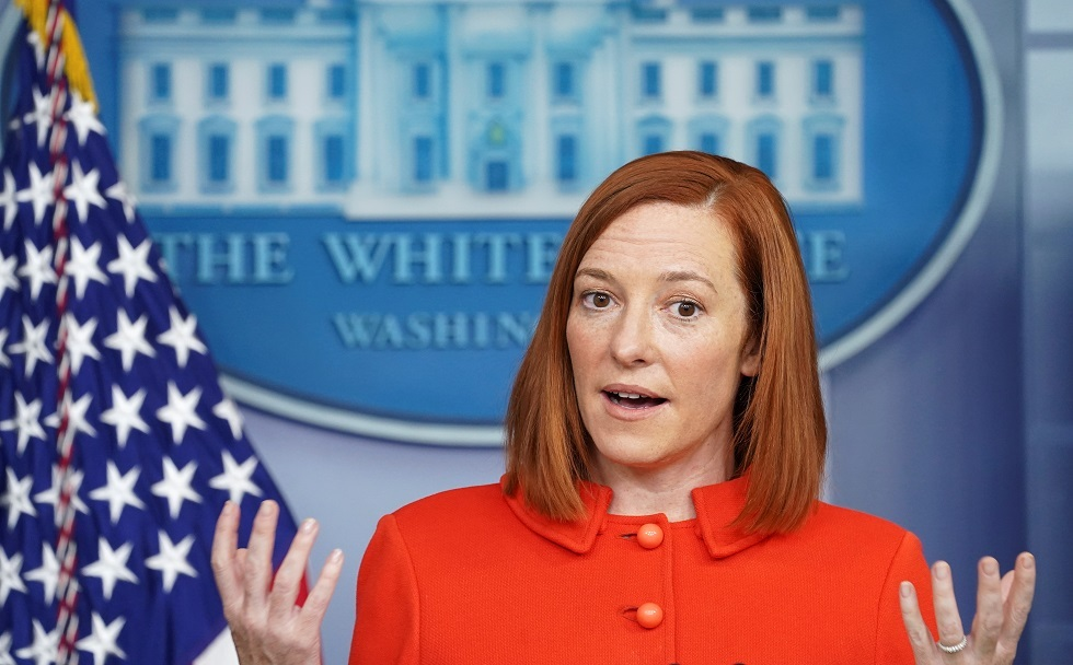المتحدثة باسم البيت الأبيض جين ساكي