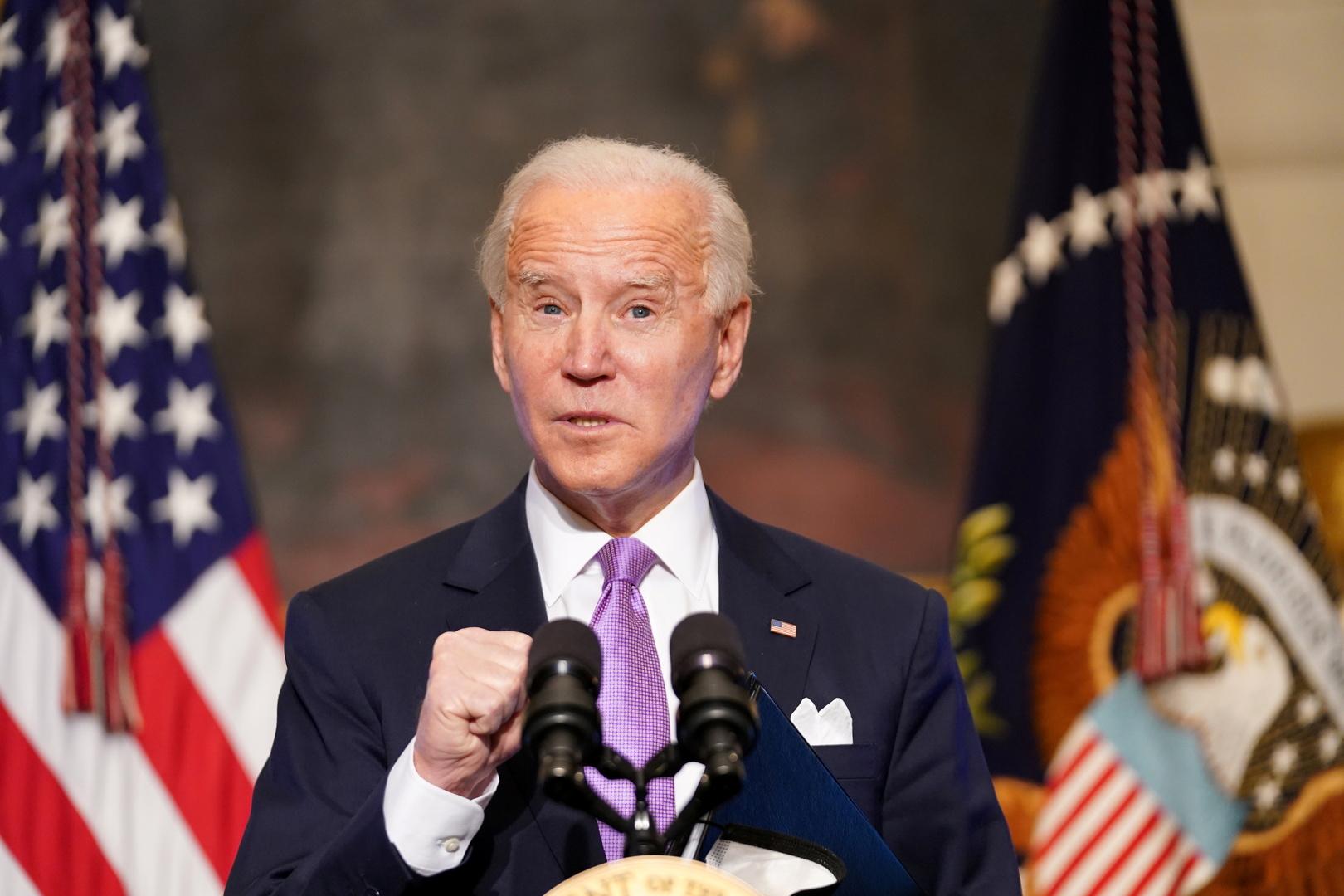 الرئيس الأمريكي الجديد، جو بايدن.