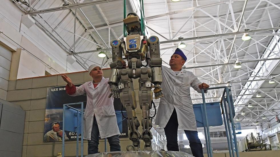 شركة روسية بصدد تصميم روبوت للعمل في الفضاء المكشوف