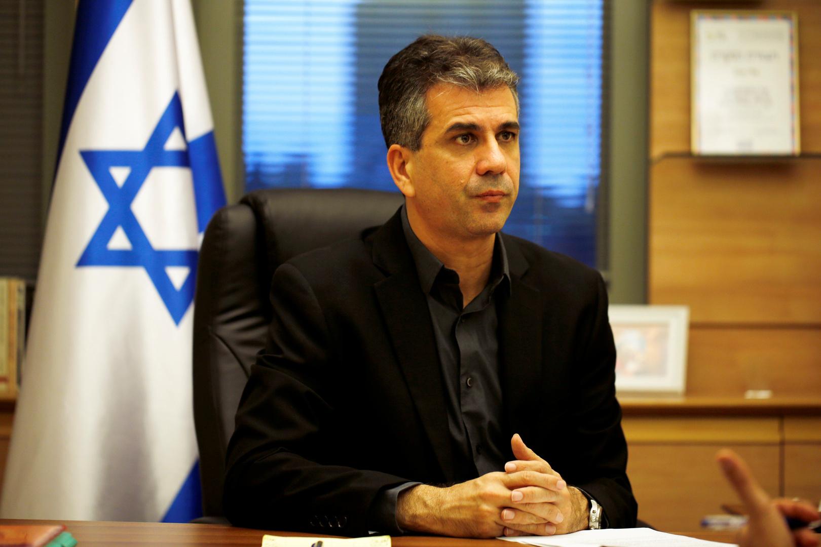 وزير المخابرات الإسرائيلي، إيلي كوهين