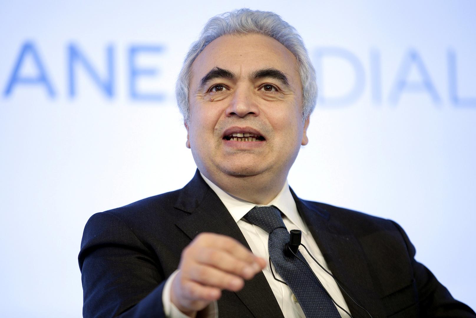 المدير التنفيذي لوكالة الطاقة الدولية فاتح بيرول