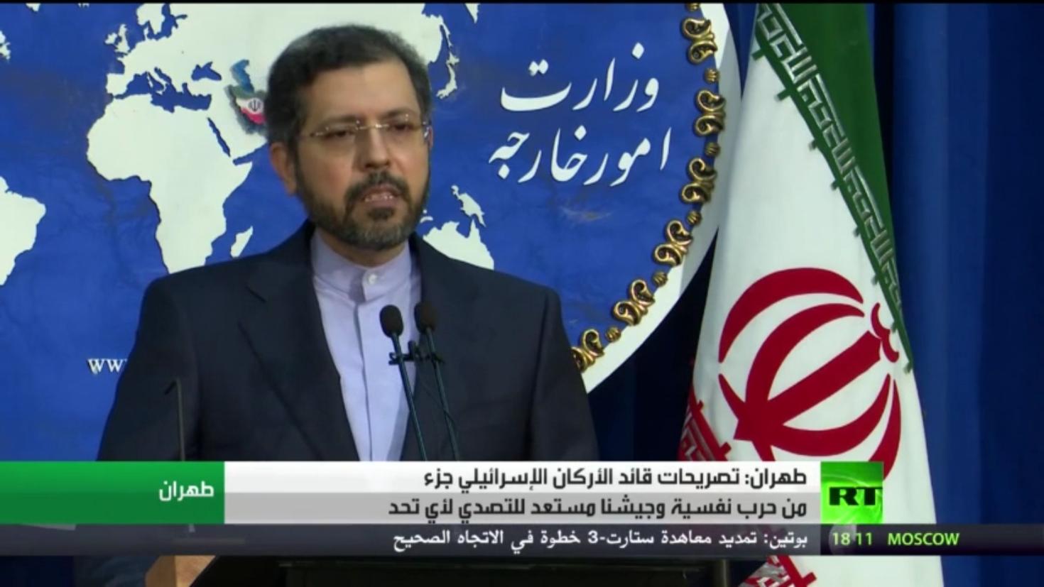 طهران: لن نتردد في الدفاع عن أمننا القومي