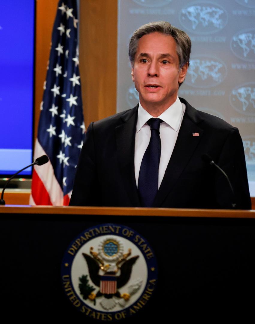 وزير الخارجية الأمريكي، أنتوني بلينكين.