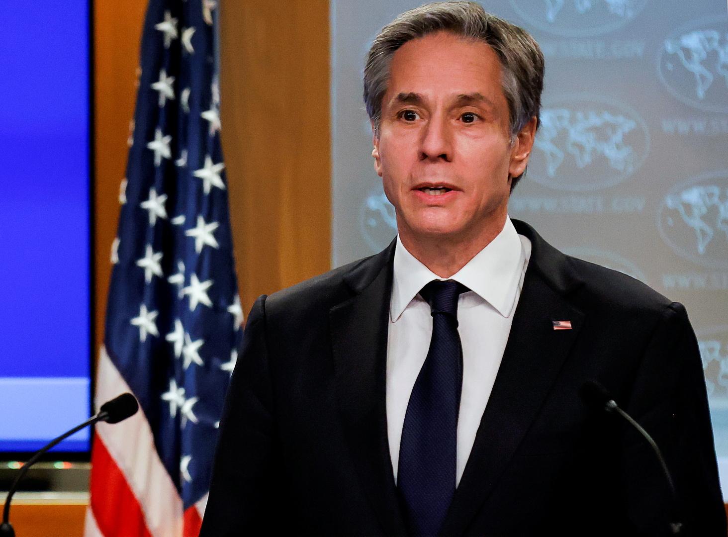 بلينكن: الولايات المتحدة ستقف مع دول جنوب شرق آسيا ضد الضغط الصيني