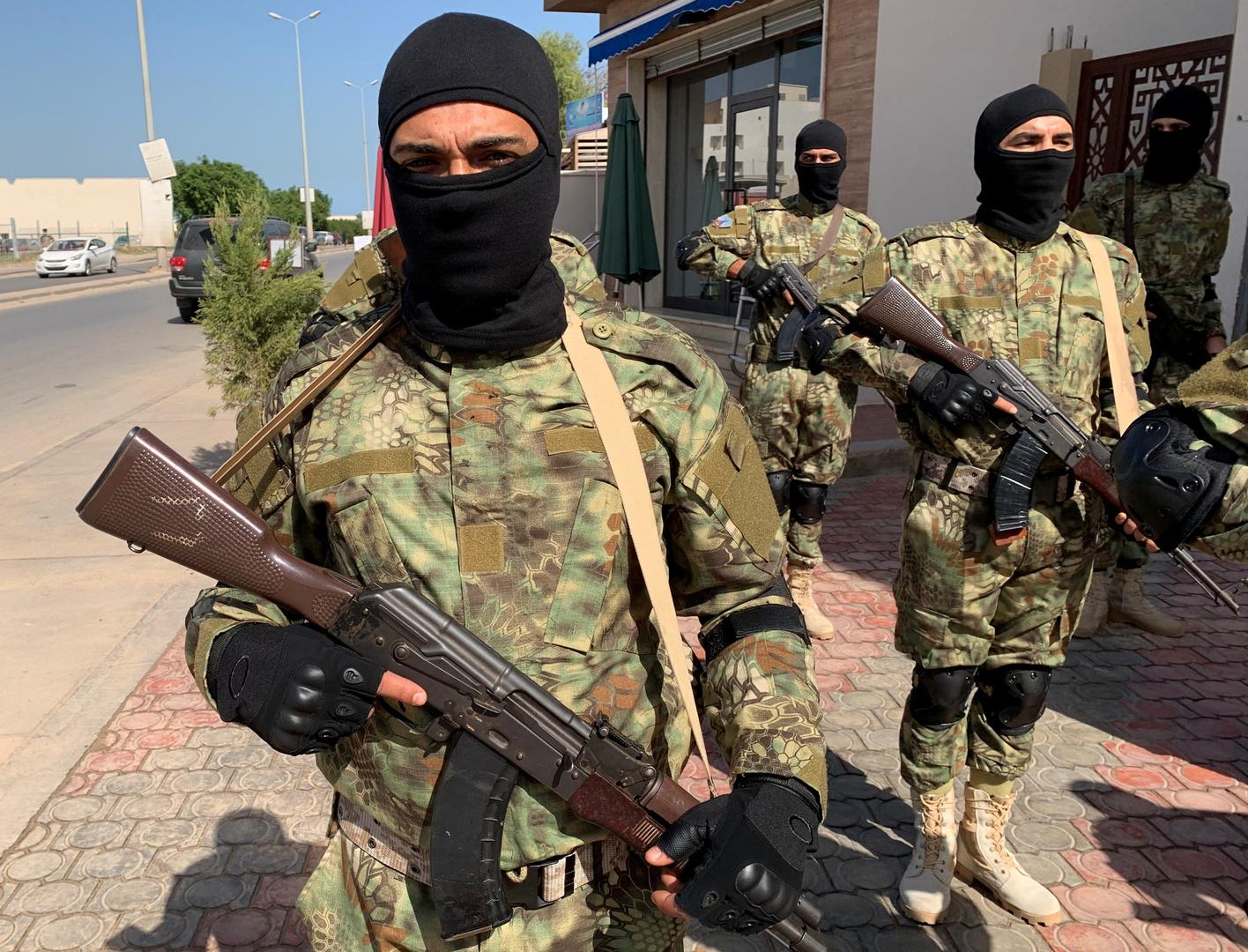 اشتباكات في العاصمة الليبية بين تشكيلين أمنيين تابعين لحكومة