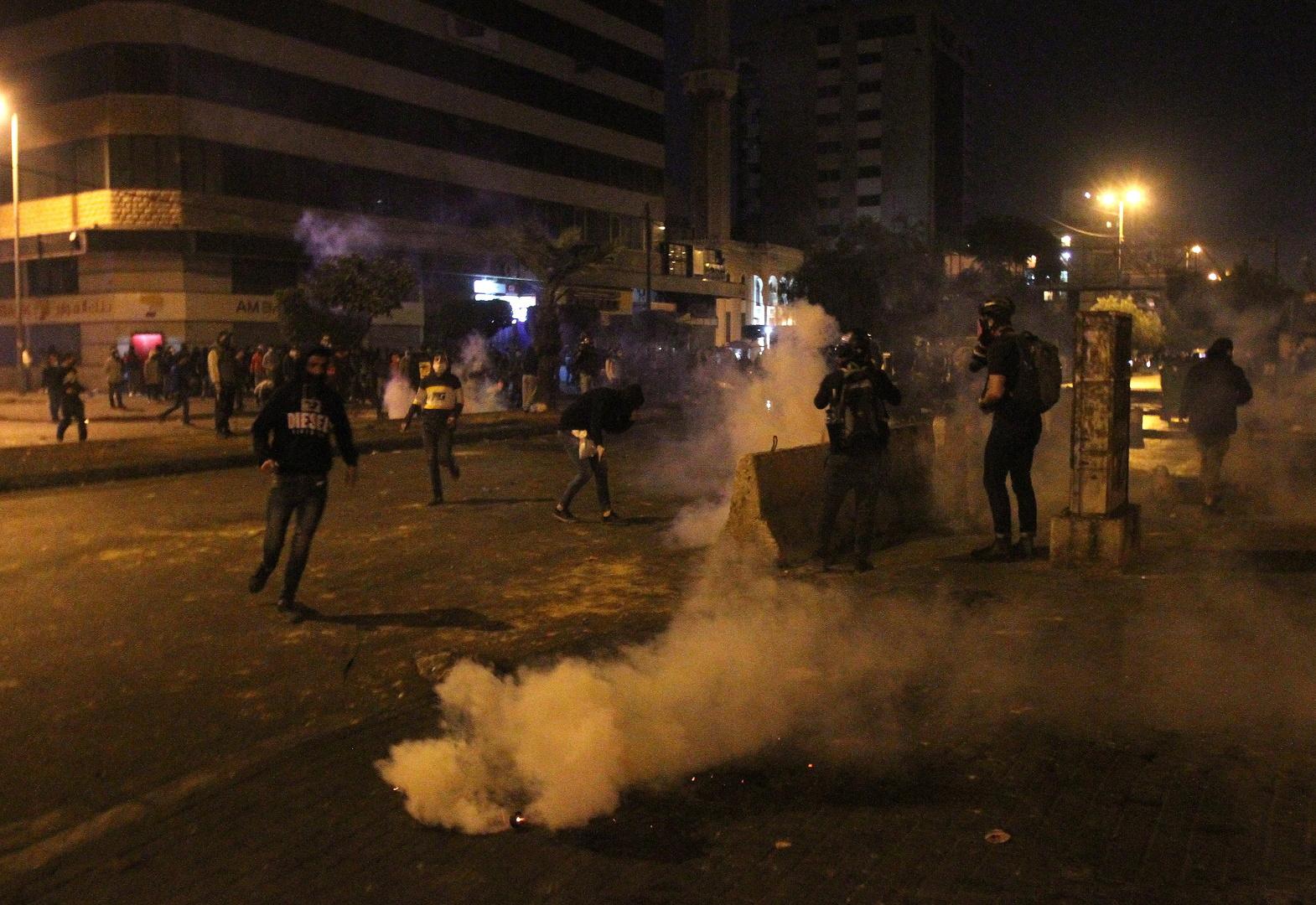 وفاة شاب متأثرا بإصابته خلال احتجاجات شمال لبنان