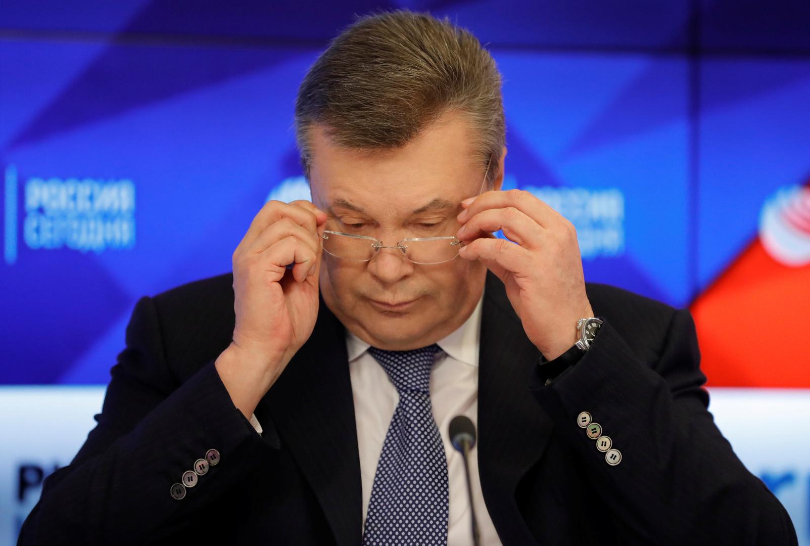 أوكرانيا.. دفاع يانوكوفيتش ينفي تهمة الخيانة العظمى الموجهة لموكله