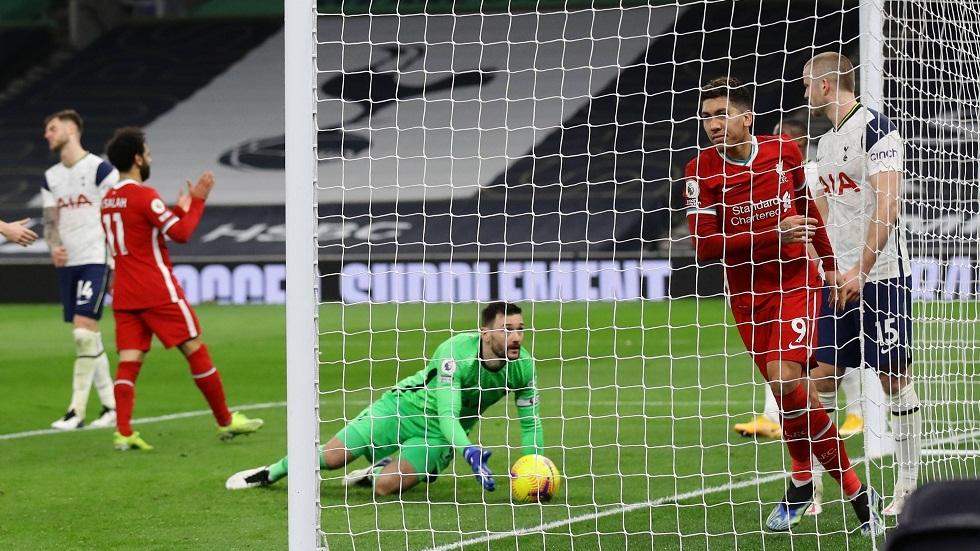 ليفربول يستعيد نغمة الانتصارات بثلاثية في شباك توتنهام (فيديو)