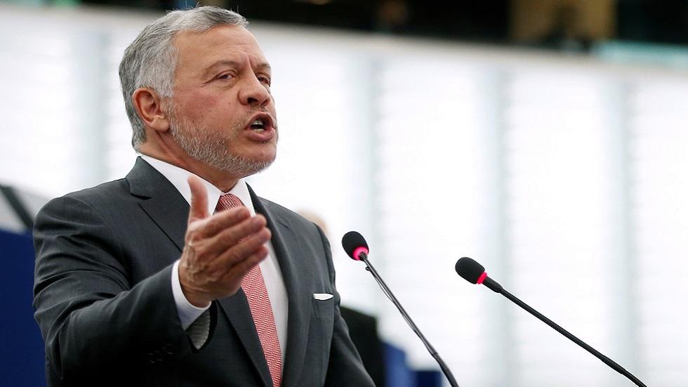 الملك عبد الله الثاني ينتقد عدم تقديم إسرائيل لقاح كورونا للفلسطينيين