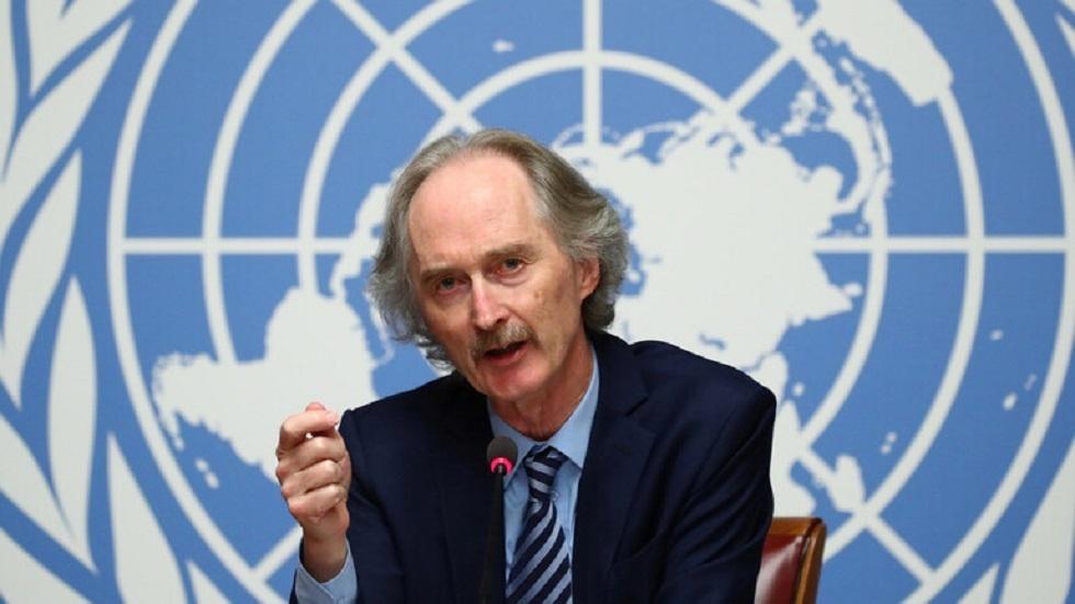 بيدرسون: محادثات اللجنة الدستورية السورية