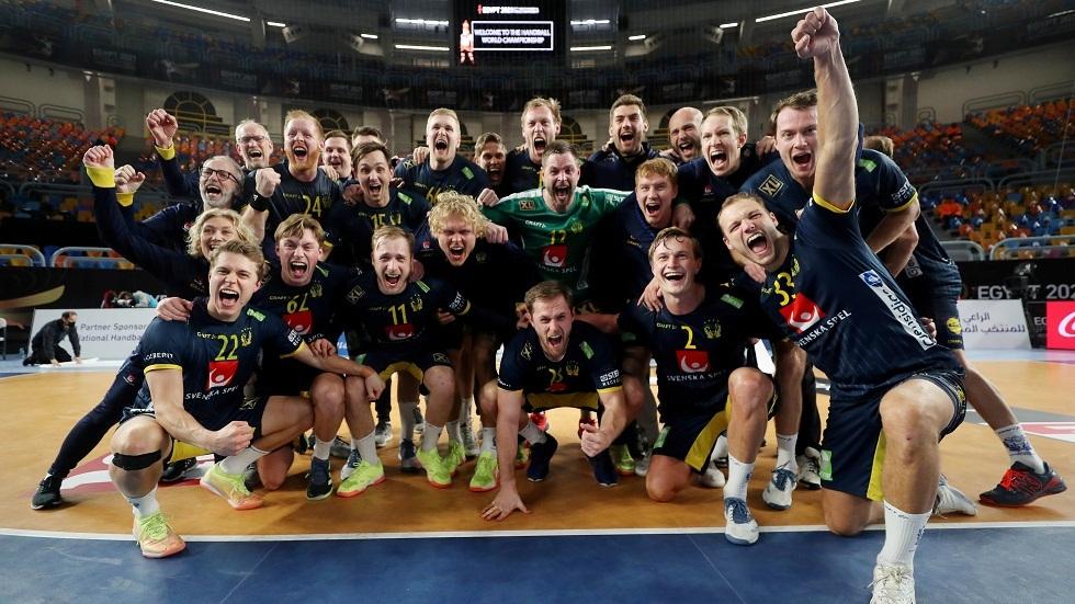 السويد تتأهل إلى نهائي مونديال اليد