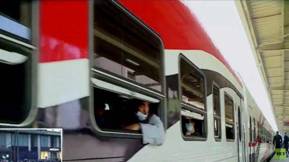 دخول 227 عربة نقل روسية في سكة حديد مصر