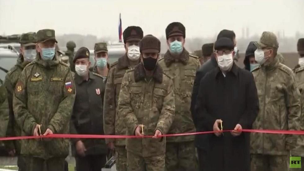 مركز روسي تركي لمراقبة الهدنة في قره باغ