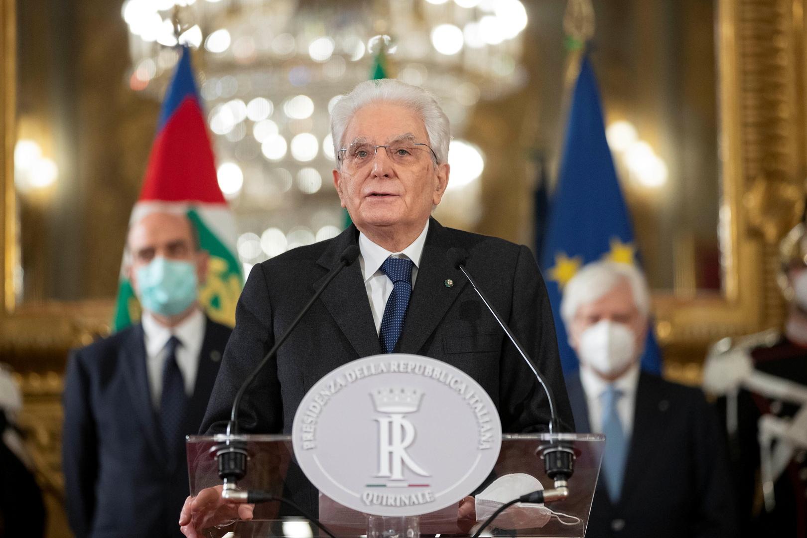 الرئيس الإيطالي يمهل الأحزاب أربعة أيام لإتمام مفاوضات تشكيل الحكومة