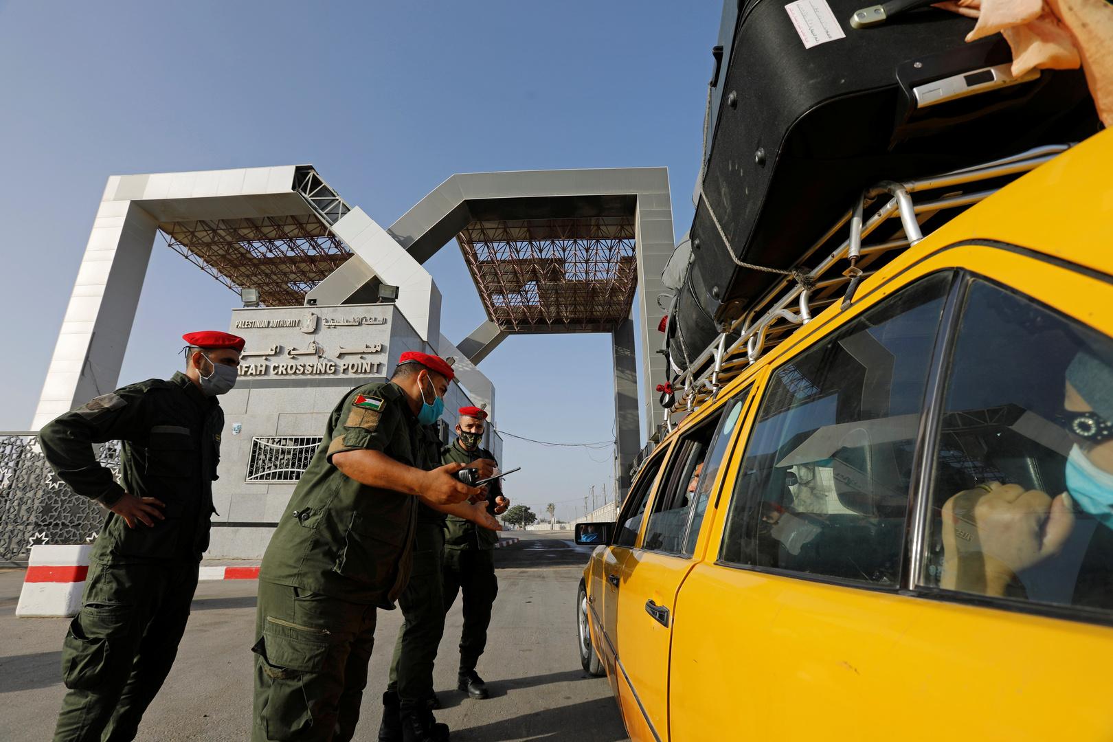 مصر تفتح معبر رفح أربعة أيام اعتبارا من الاثنين