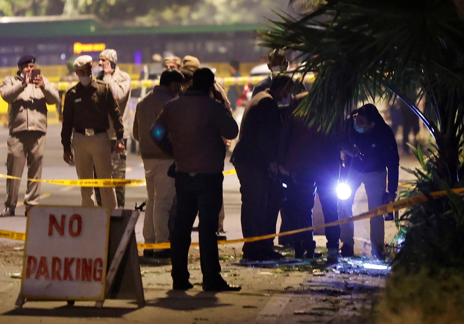 انفجار قرب السفارة الإسرائيلية في نيو دلهي