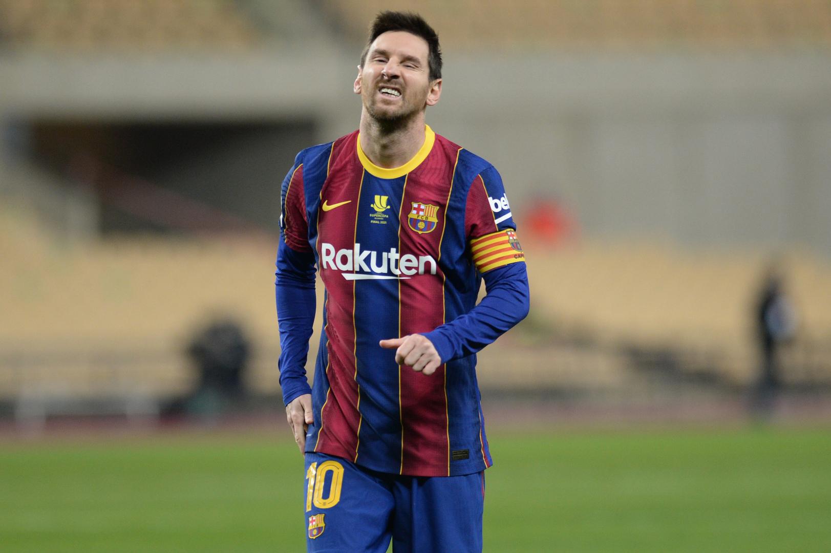 برشلونة يتوعد ناشر عقد ميسي