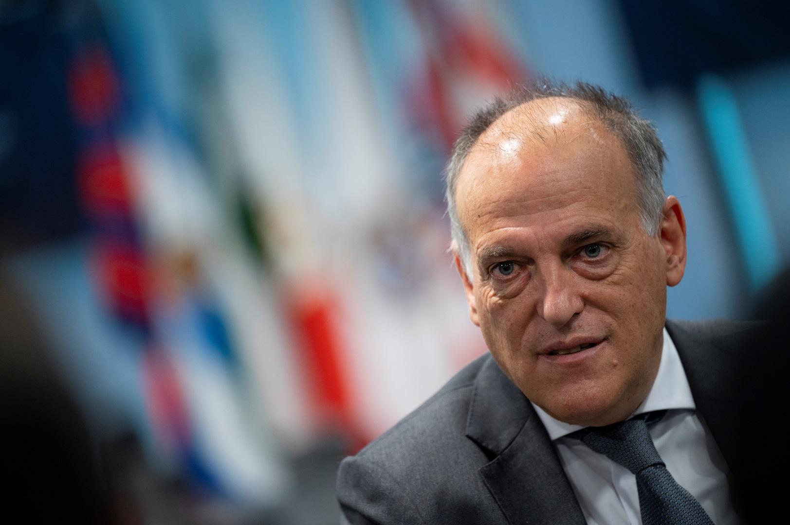 ادعاء خطير من تيباس بحق إنفانتينو بدعم مشروع دوري السوبر الأوروبي