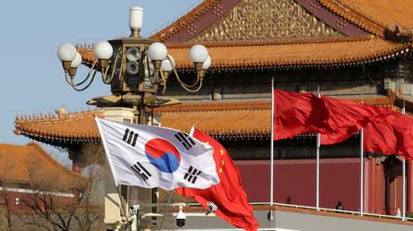 الرئيس الصيني يجري مباحثات مع نظيره الكوري الجنوبي  بشأن نزع السلاح النووي من شبه الجزيرة الكورية