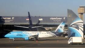 تفاصيل وصول وزير المالية القطري إلى القاهرة على متن طائرة خاصة