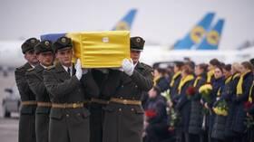 الدول المتضررة من إسقاط الطائرة الأوكرانية تتعهد بمقاضاة إيران