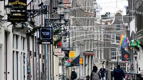 احتجاج الآلاف في أمستردام على إغلاق كورونا