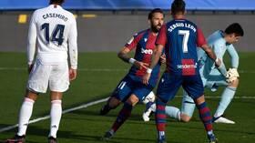 ريال مدريد يسقط في عقر داره أمام ليفانتي (فيديو)