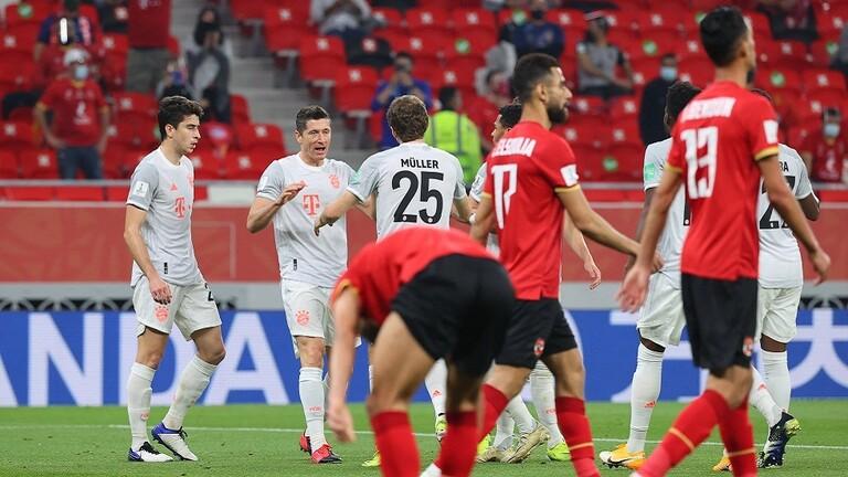 مونديال الأندية.. بايرن ميونخ الألماني يتغلب على الأهلي المصري في نصف النهائي