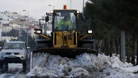الأردن، الكتلة الهوائية القطبية، تساقط الثلوج،  حربوشة نيوز