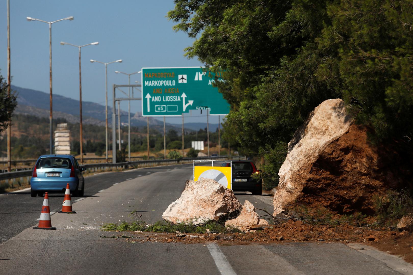 زلزال بقوة 4.8 درجة يضرب جزيرة ليسبوس اليونانية