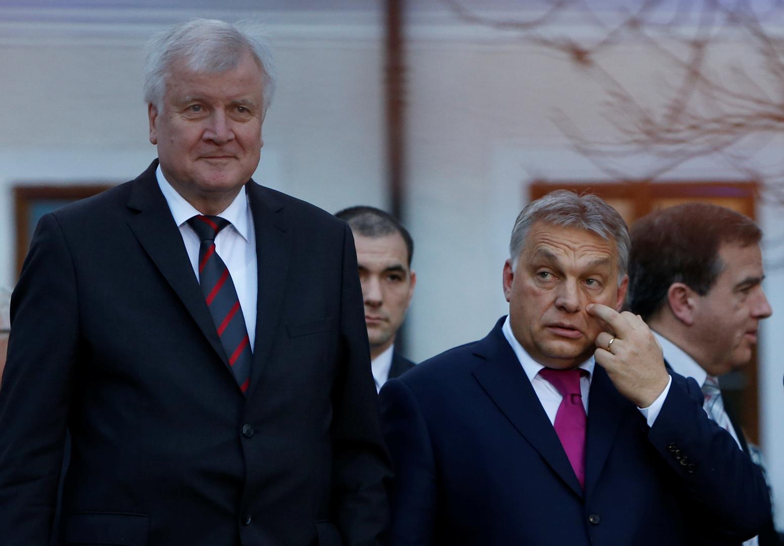 رئيس الوزراء الهنغاري فيكتور أوربان