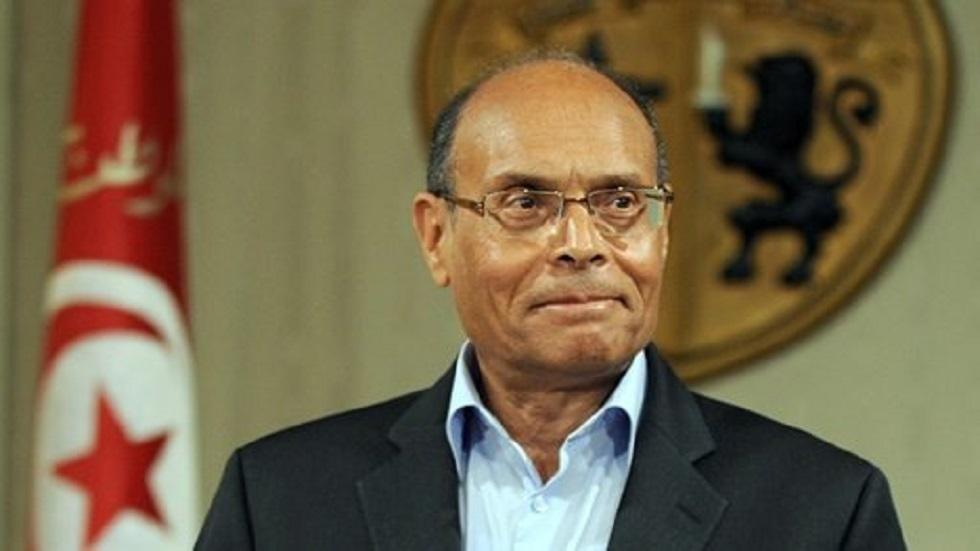 الرئيس التونسي السابق المنصف المرزوقي