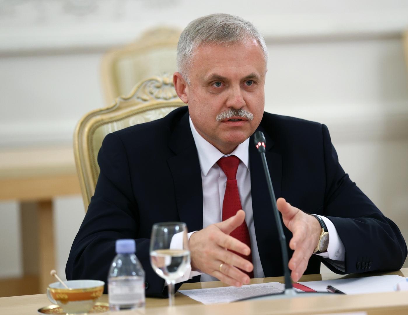 الأمين العام لمنظمة معاهدة الامن الجماعي، ستانيسلاف زاس