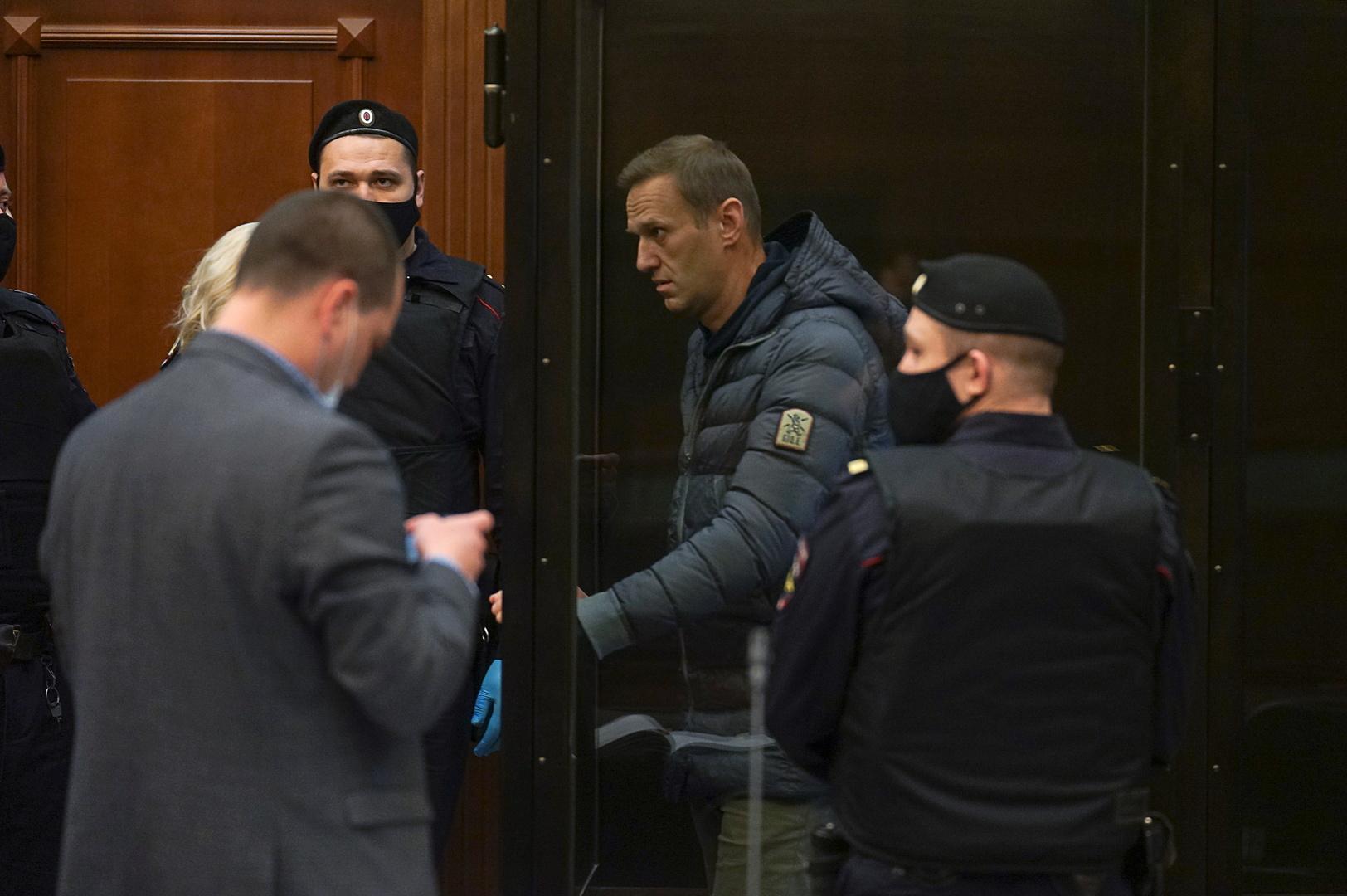 موسكو تطالب بعدم التدخل في شؤونها بعد دعوات غربية للإفراج عن نافالني