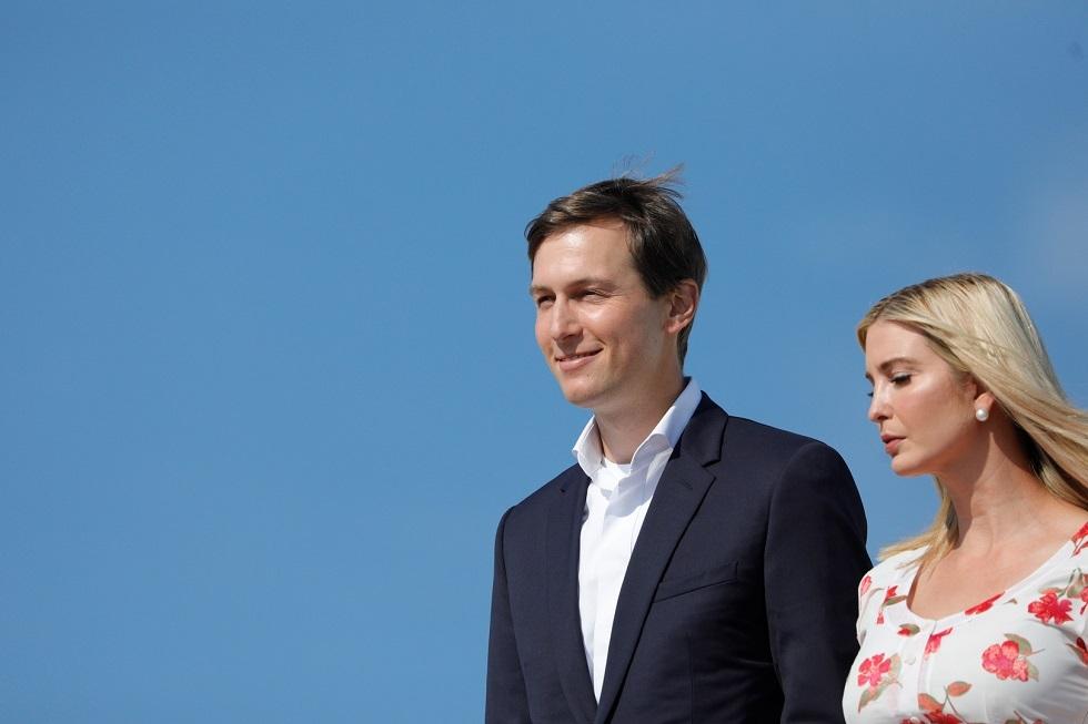 إيفانكا ترامب ابنة الرئيس الأمريكي السابق دونالد ترامب، وزوجها جاريد كوشنر