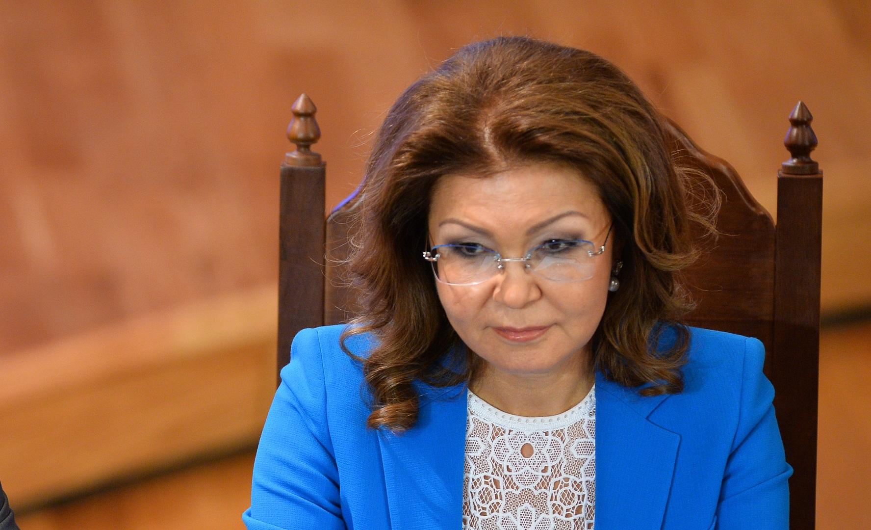 داريغا نزاربايفا ابنة الرئيس الكازاخستاني السابق نور سلطان نزاربايف، أرشيف