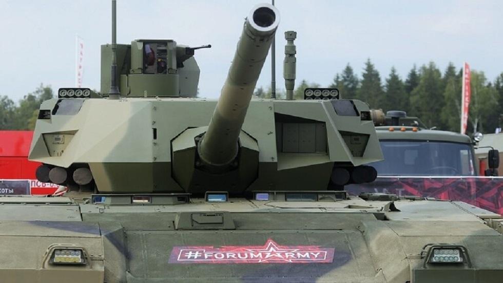لأول مرة: دبابة