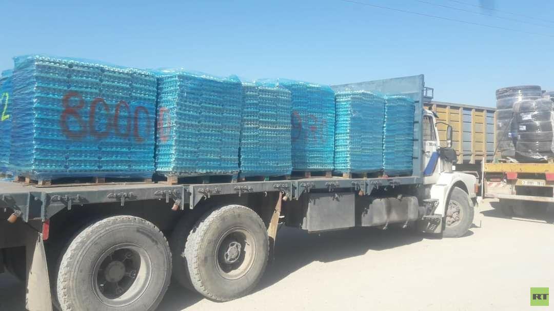 وزارة الزراعة الفلسطينية  تتلف شحنة