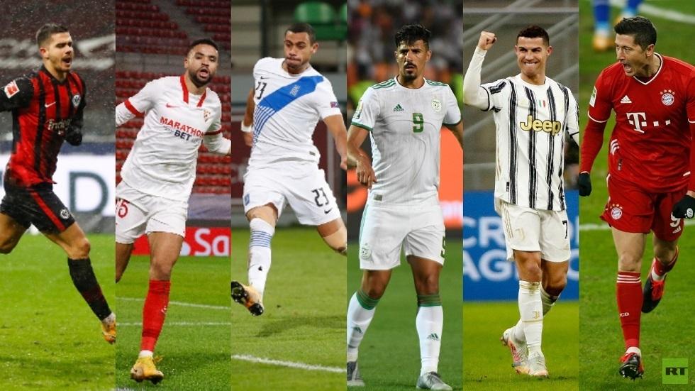 لاعب عربي الأكثر تسجيلا للأهداف في بداية العام 2021