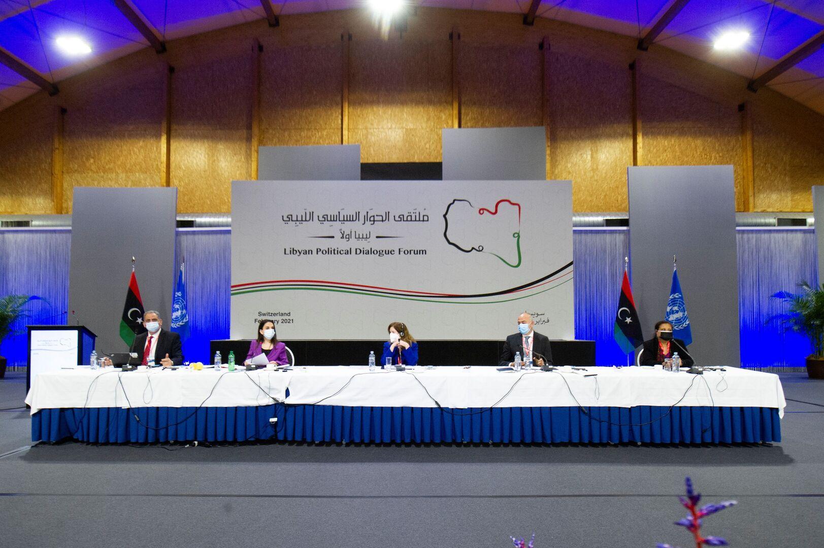 ملتقى الحوار الليبي يختار المنفي ودبيبه لرئاسة المجلس الرئاسي والحكومة