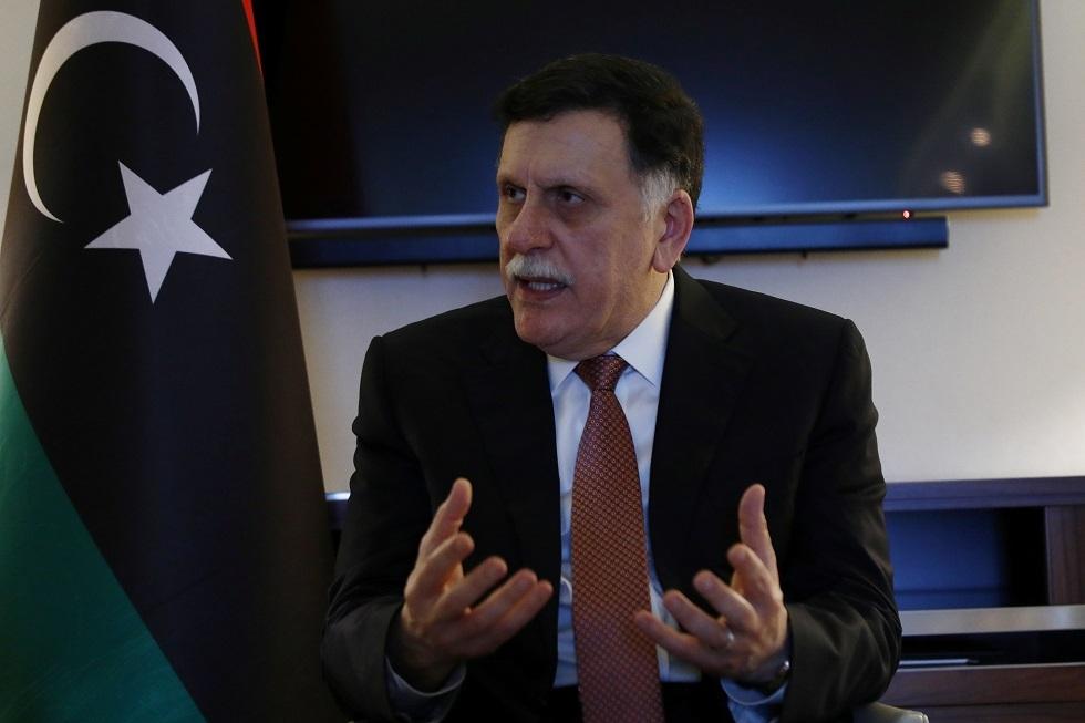 السراج: نأمل أن تنهي السلطة التنفيذية الجديدة الانقسام الليبي