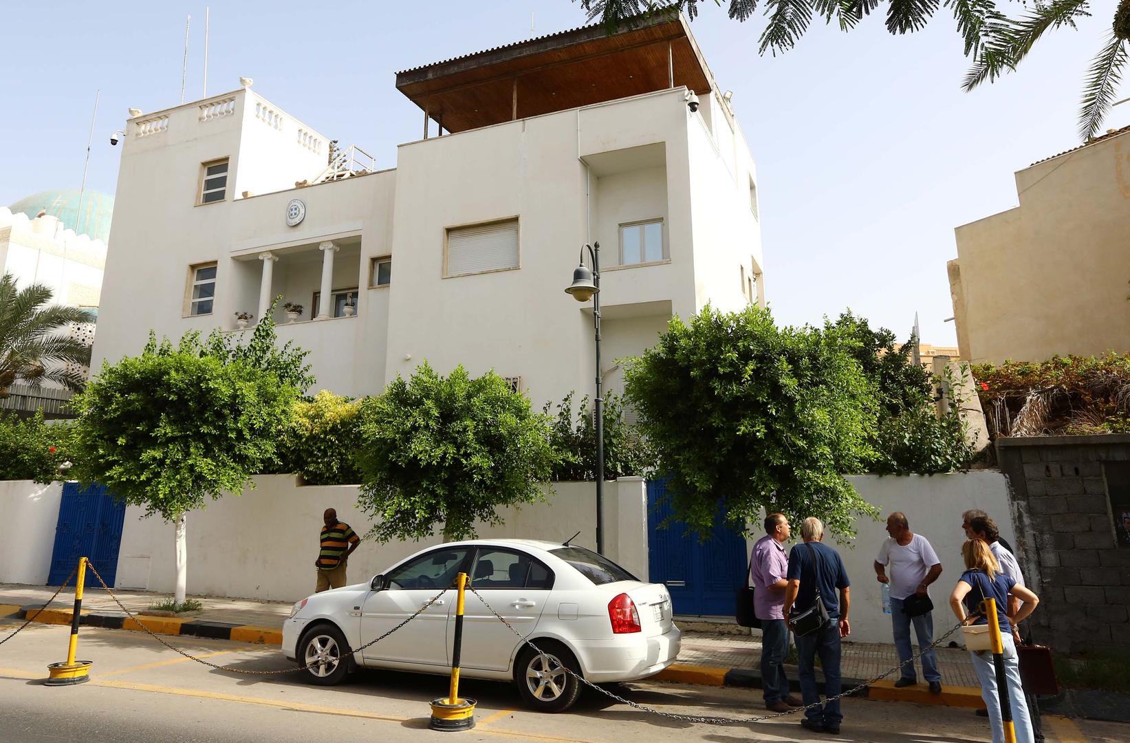 اليونان تستأنف عمل سفارتها في طرابلس وتفتح قنصليتها في بنغازي