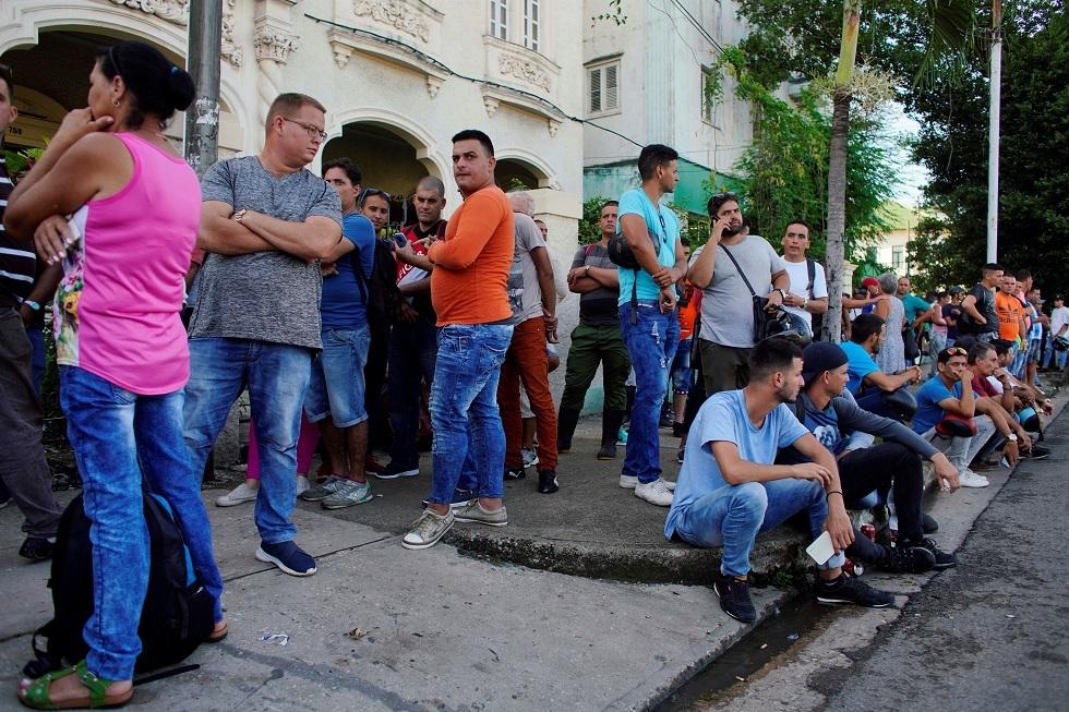 أحد شوارع هافانا في كوبا