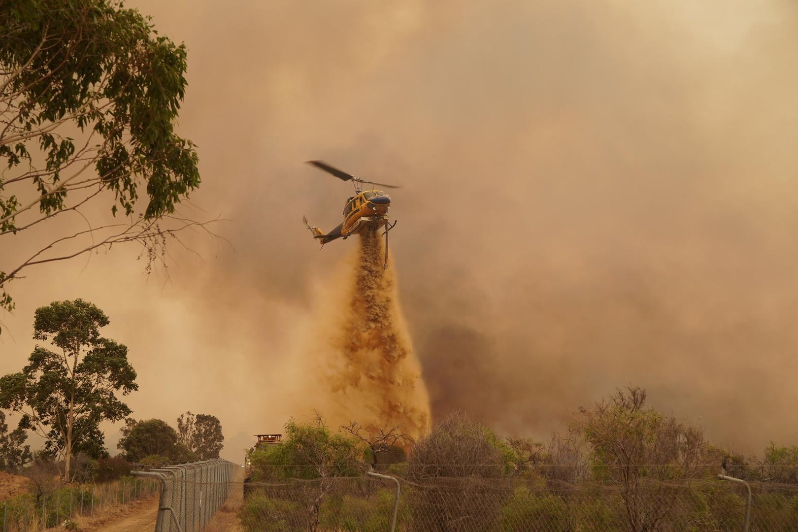 حرائق ضخمة مريبة في ولاية أسترالية (صور)