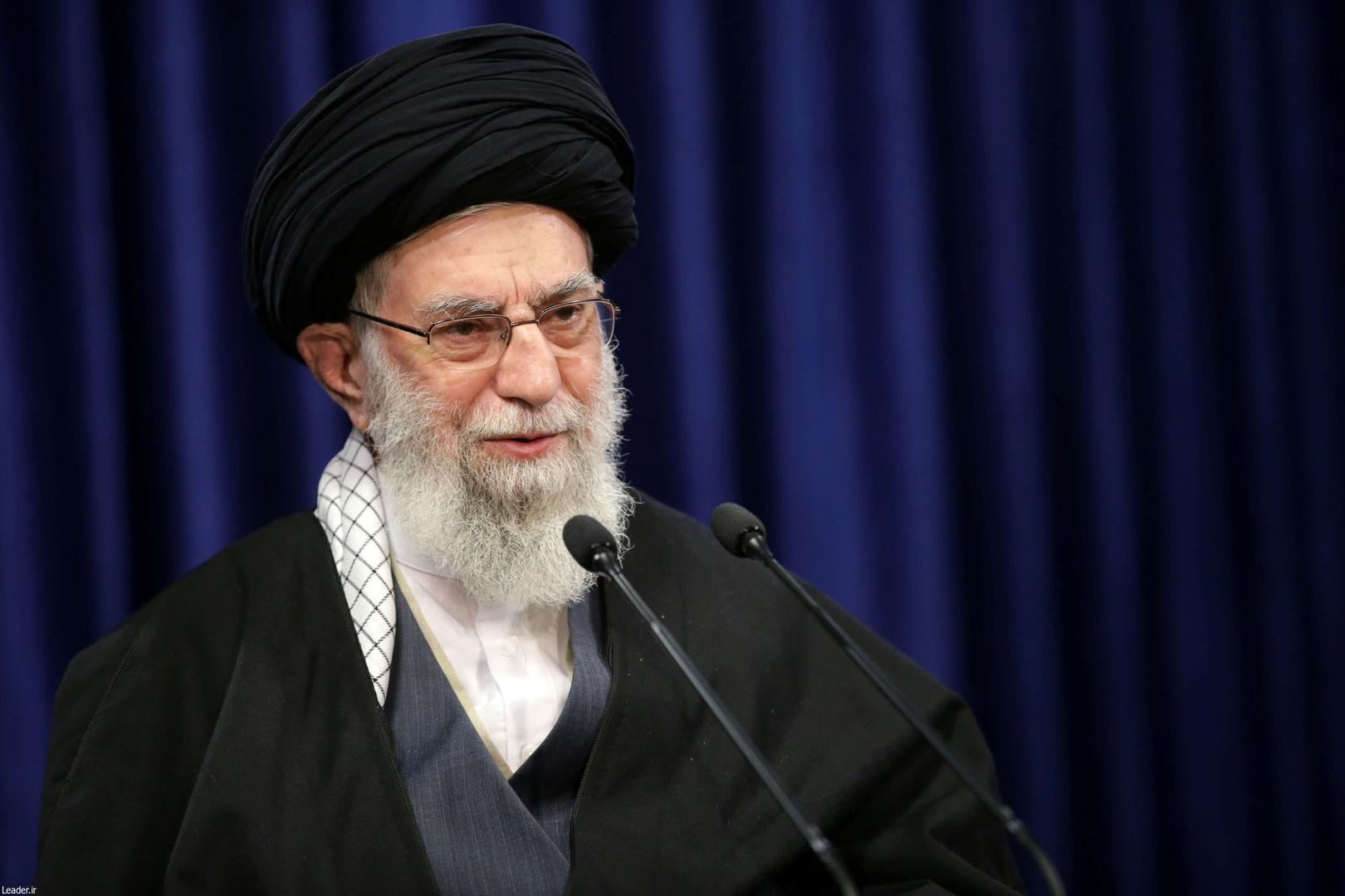 Khamenei sets Iran's condition