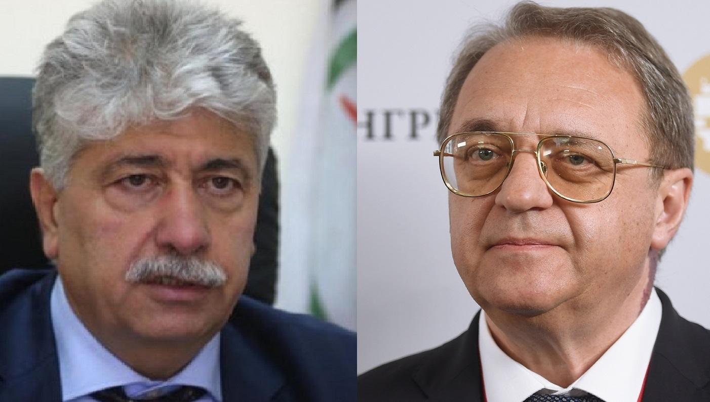 أحمد مجدلاني وميخائيل بوغدانوف