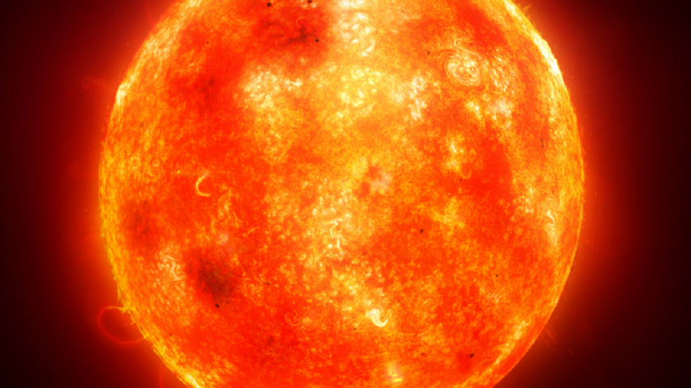 قمر صناعي يرصد التوهج الشمسي في اتجاه كوكب المشتري