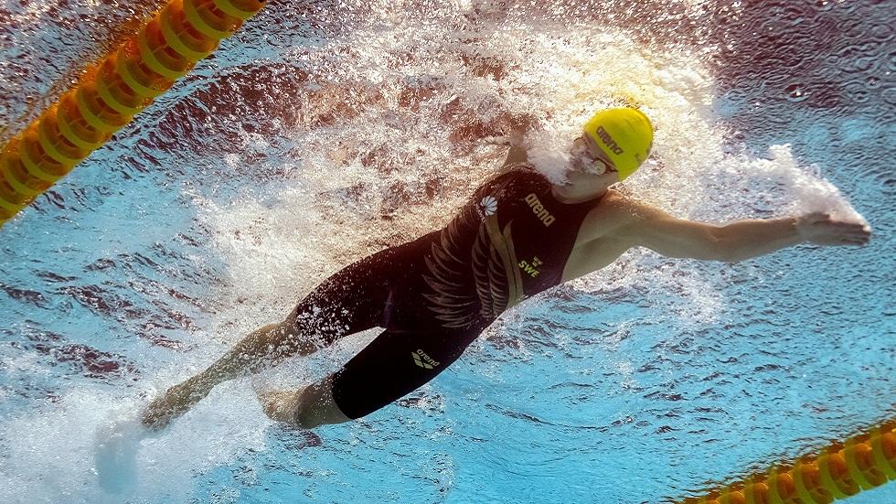 السباحة سيوستروم تكسر مرفقها قبل ستة أشهر من أولمبياد طوكيو (صور)