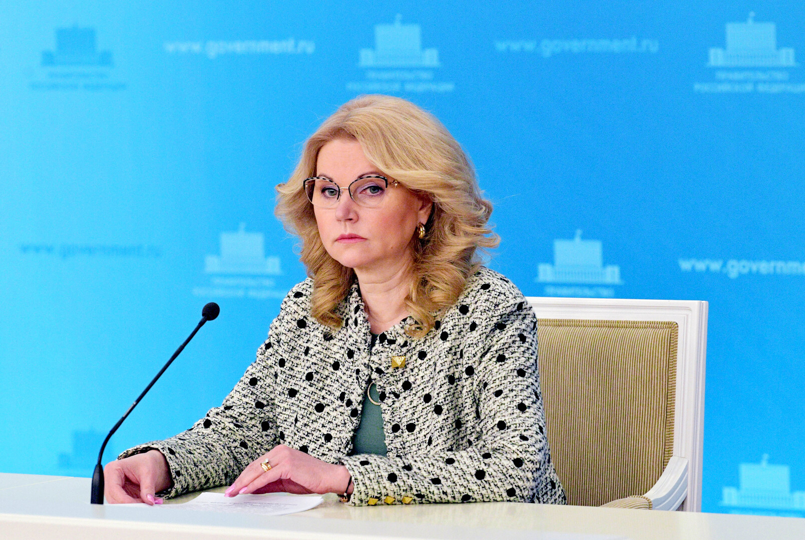 نائبة رئيس الوزراء الروسية، تاتيانا غوليكوفا