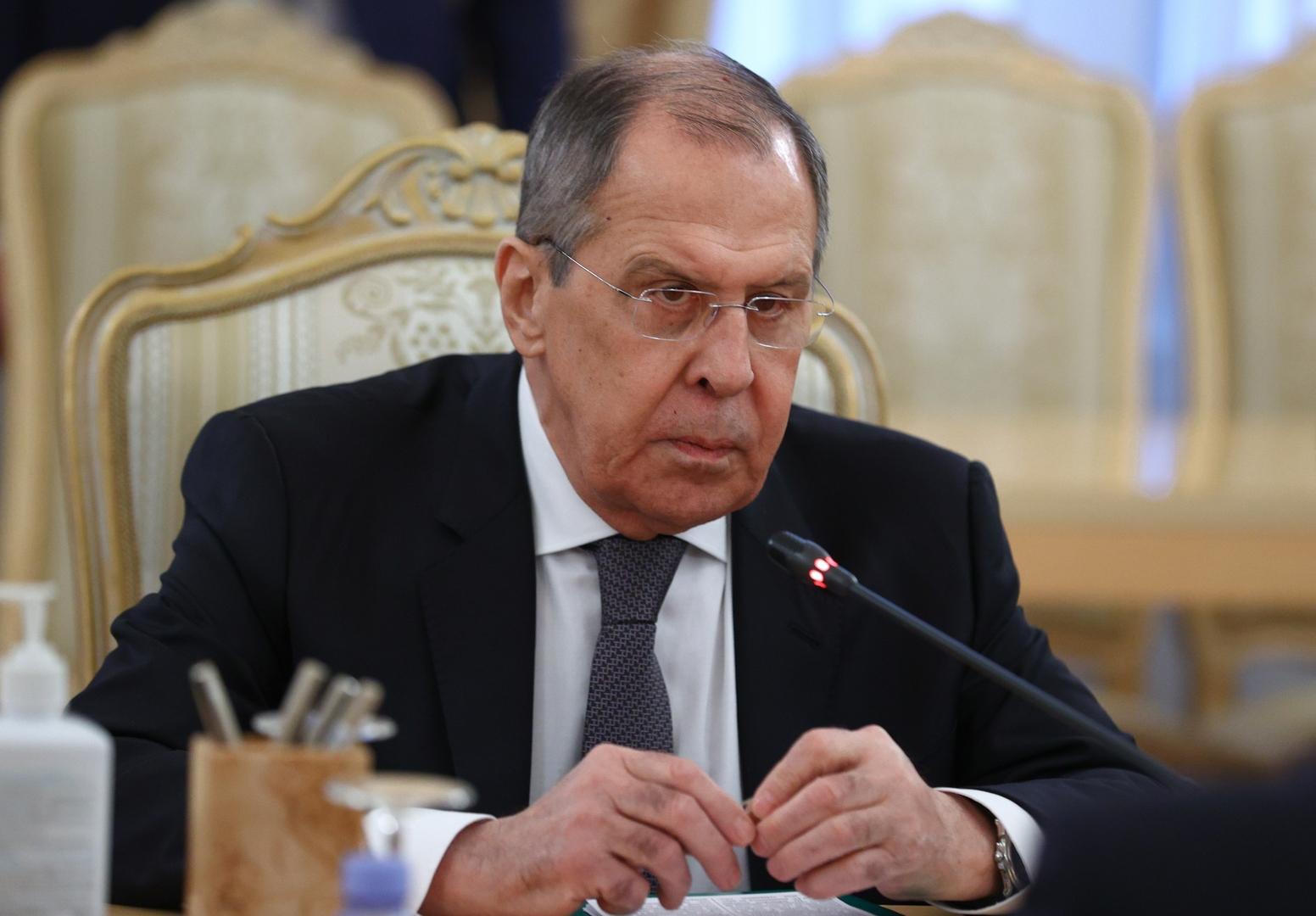 لافروف يؤكد للمنفي ودبيبة استعداد روسيا للعمل مع حكومة ليبيا الجديدة